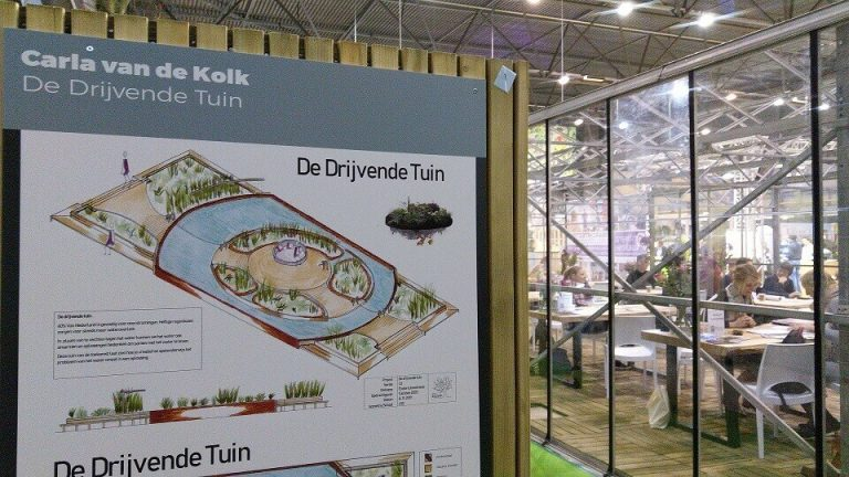 tuinontwerp Poster tuinidee
