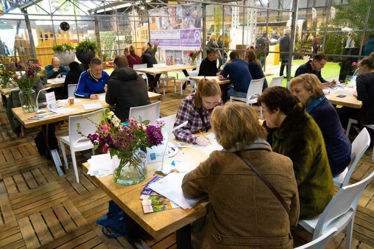 tuinontwerp tuinidee beurs 2020 schetsservice