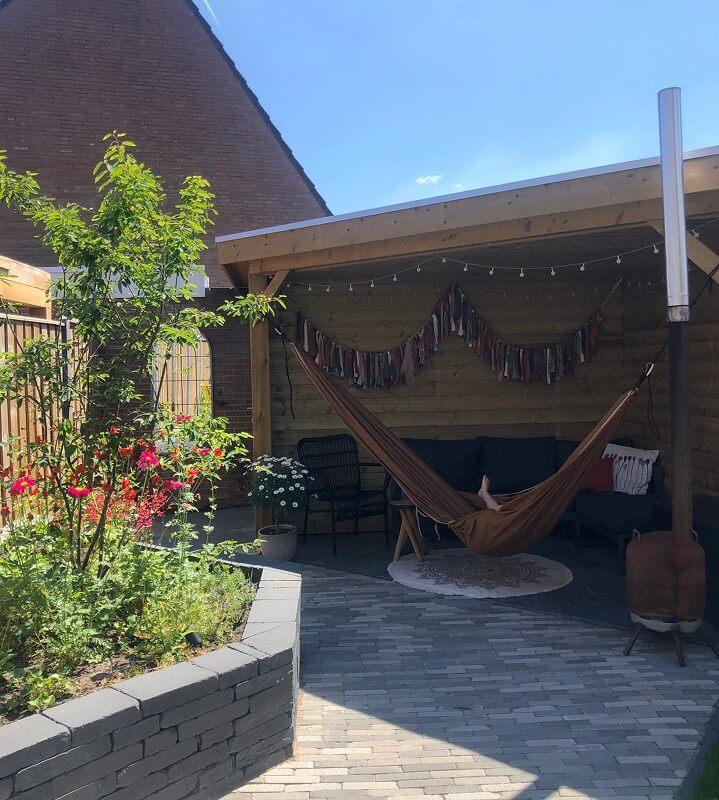 tuinontwerp Wijchen Nijmegen tuinarchitect overkapping